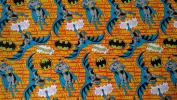 Batman Wrapping Paper Comic Style Gift Wrap, 2.1sqm