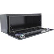 Better Built Black Steel Underbody Tool Box, 120cm L x 46cm W x 46cm H