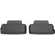 WeatherTech - 441392 - 2005 - 2010 Ford Mustang Black 2nd Row FloorLiner