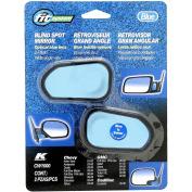 CW1000 - Fit System Chevrolet Custom Spot Mirror, 91 - 07, 2 Pack, Optical Blue Lens Custom Fit Spot Mirror