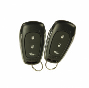 Audiovox Prestige 1-Way Remote Car Alarm Security System Shock Sensor + Remotes
