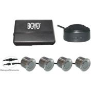 Boyo VTSR100 4 Rear Parking Sensors with Waterproof Connector, Silver