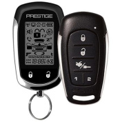 Audiovox Prestige APS596E 2-Way Paging Keyless Entry Vehicle Security System with 1 2-Way LCD Remote and 5-Button Sidekick Remote