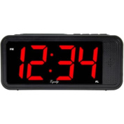 Equity by La Crosse 75907 4.6cm LED Simple Set Alarm Clock with Hi/Low Dimmer