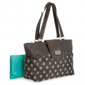 Carter's Carry It All Tote Nappy Bag - Leaf Print