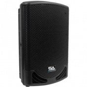 Seismic Audio Powered 30cm 2-Way Loudspeaker - PA DJ Moulded Loudspeaker 500 Watts - MainShock-12