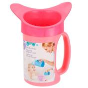 . Shampoo Rinse Cup- Blue