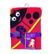 Sozo Ladybug Hooded Towel