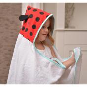 JJ Cole Little Hooded Towel - Ladybug