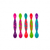 The First Years 5 Pack Double End Infant Spoons - Boy