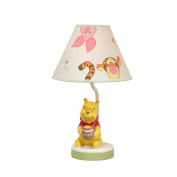 Disney Baby - Peeking Pooh Lamp & Shade