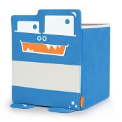 P'kolino Mess Eaters Square Shelf Storage Bins - Blue