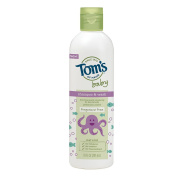 Tom's of Maine Baby Shampoo and Body Wash , Fragrance Free, 300ml