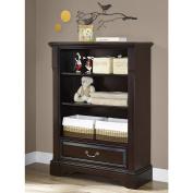 Bertini Castlebrook Bookcase - Espresso