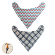 Baby Bibs for Both Baby Girl and Baby Boy ~ Ideal Baby Gift for Baby Shower and Newborn Baby ~ Bandana Bibs Made with Cotton and Polyester Fleece ~ Satisfaction Guarantee