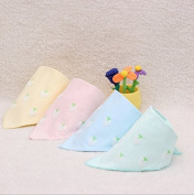 Tosnail Baby Bandana Drool Bibs, Unisex 4-pack, Cotton
