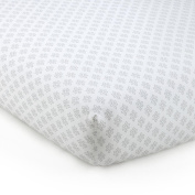 Levtex Baby Baby Ely Fitted Sheet - Grey