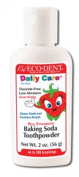 Eco-Dent Tooth Powder for Kids, Strawberry, 60ml