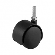 SHEPHERD HDWE. PROD., LLC. 5.1cm Black Twin Stem Caster