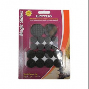 MAGIC SLIDERS L P Grippers Surface Protectors Value Pack, Adhesive, 36-Pc.