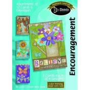 Divinity Boutique 133435 Card Boxed Encour Believe
