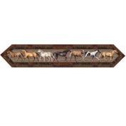 River's Edge Horses 180cm x 33cm Table Runner 1667