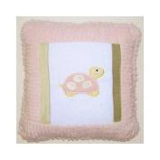 Brandee Danielle Babette Turtle Decorator Cotton Throw Pillow