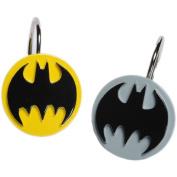Batman Logo Shower Curtain Hooks