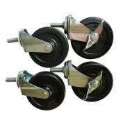 Excel Hardware Casters Kit for All Excel NSF Shelving