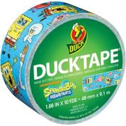 Duck Brand Duct Tape, 4.8cm x 10 Yards, SpongeBob SquarePants Duct Tape