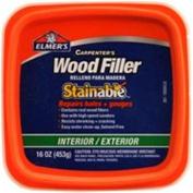Elmer's Carpenter's Wood Filler, Interior/Exterior Stainable, 470ml