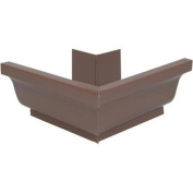 Amerimax Home Products 2520219 Aluminium Outside Mitre-BROWN OUTSIDE MITRE