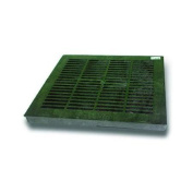 NDS 30cm Green Square Grate