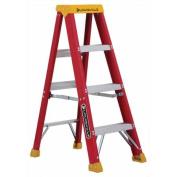 Louisville Ladder 1.2m Fibreglass Step Ladder, 140kg Duty Rated Type IA