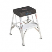 Louisville Ladder 2-Step Aluminium Step Stool with 90kg. Load Capacity