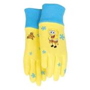 SpongeBob All Cotton Jersey Kid's Glove-SPONGEBOB COT/JER GLOVE