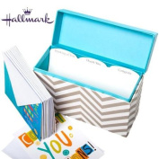 Hallmark Greeting Card Organiser Display With 12 Cards & Envelopes Any Occasion