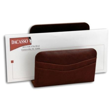 Dacasso Sassari Leather Letter Holder