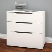 Nexera Arobas 3 Drawer Lateral Filing Cabinet