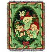 Blizten 120cm x 150cm Holiday Woven Tapestry Throw