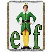 "Warner Bros. Elf ""Elf Pose"" 120cm x 150cm Woven Tapestry Throw"