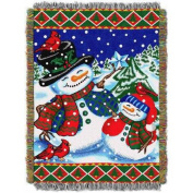 Winter Pals 120cm x 150cm Holiday Woven Tapestry Throw