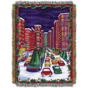 Holiday City 120cm x 150cm Holiday Woven Tapestry Throw