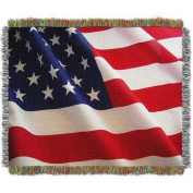 Flag Movement 120cm x 150cm Holiday Woven Tapestry Throw