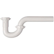 Plumb Pak/Keeney Mfg. 200WK Plastic P-Trap-1-1/4 WHT PLASTIC P-TRAP