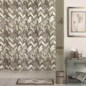 Excell Walkway Fabric Shower Curtain