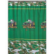 John Deere Fabric Shower Curtain