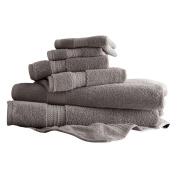 Amrapur Overseas Inc. 650 GSM Luxury Spa 6 Piece Towel Set