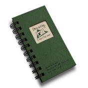Geocaching, A Seek and Find Journal MINI - Green Hard Cover
