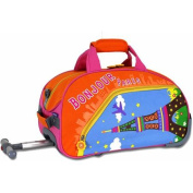 J World Paris Kids' 43cm Rolling Duffel Bag